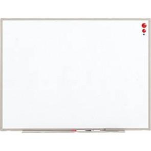 【激安】壁掛けホワイトボード/無地 幅600×高456mm(ES-14)