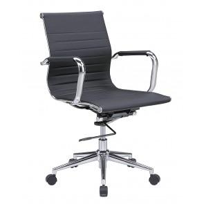 【激安】オフィスチェア/ルチェア(LU CHAIR)/PUタイプ/幅560mm(211331)
