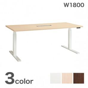 【激安】ライオン/電動昇降テーブル/幅1800mm(BEF-F1809)